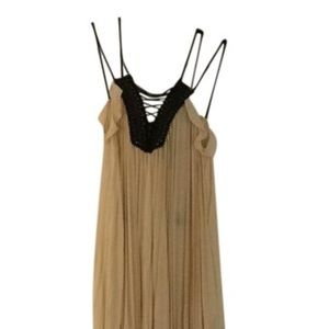 Long dress with details